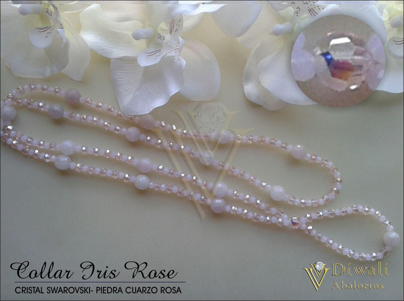 Collar Iris Rose