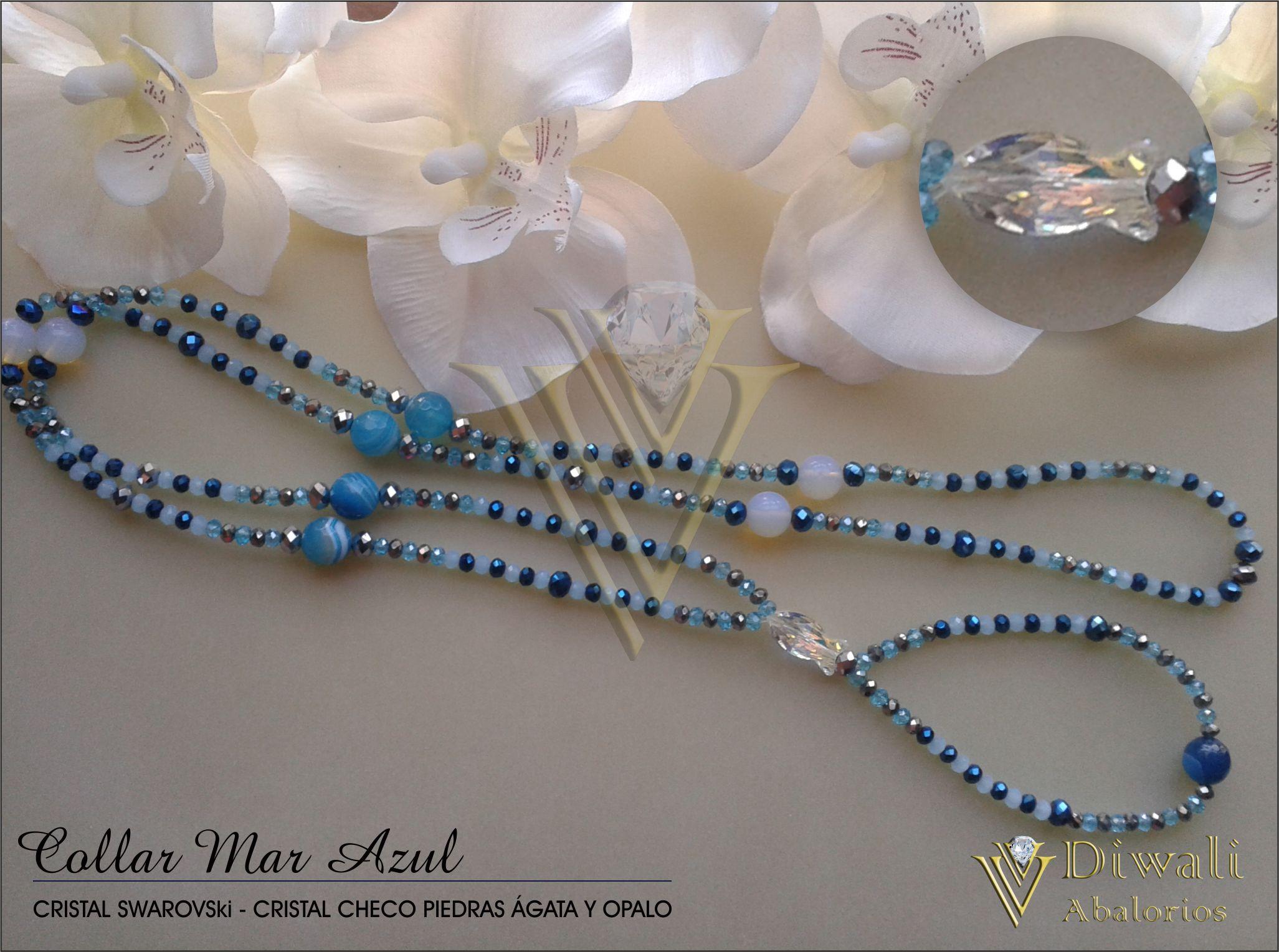 Colllar Mar Azul