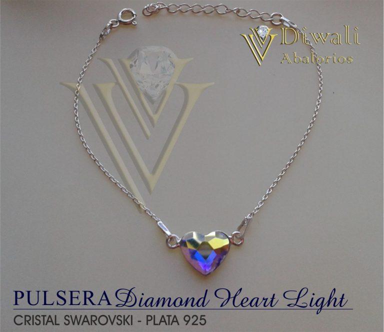 Pulsera Diamond-Heart Light