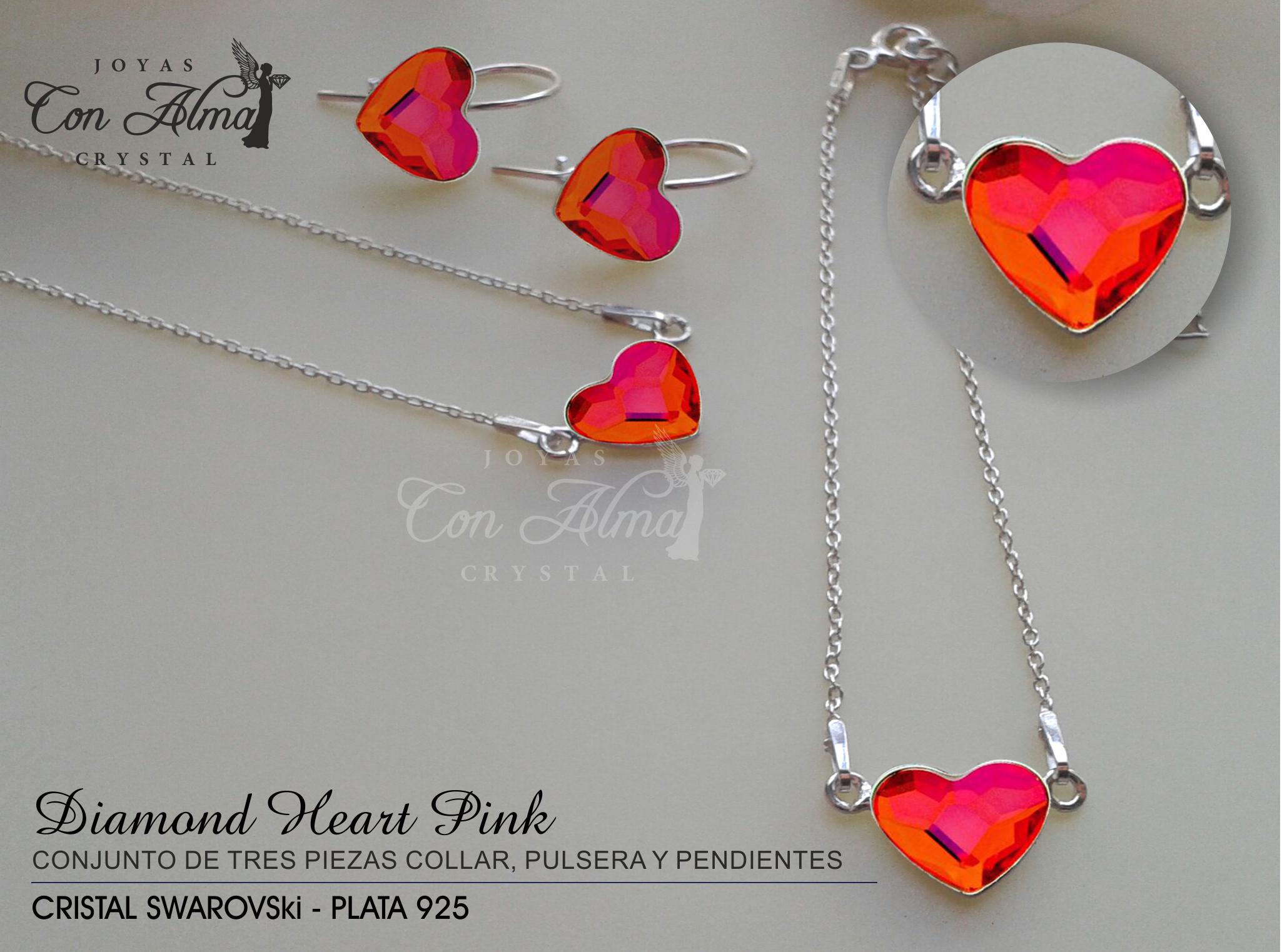 Diamond Heart Pink   59,99.€
