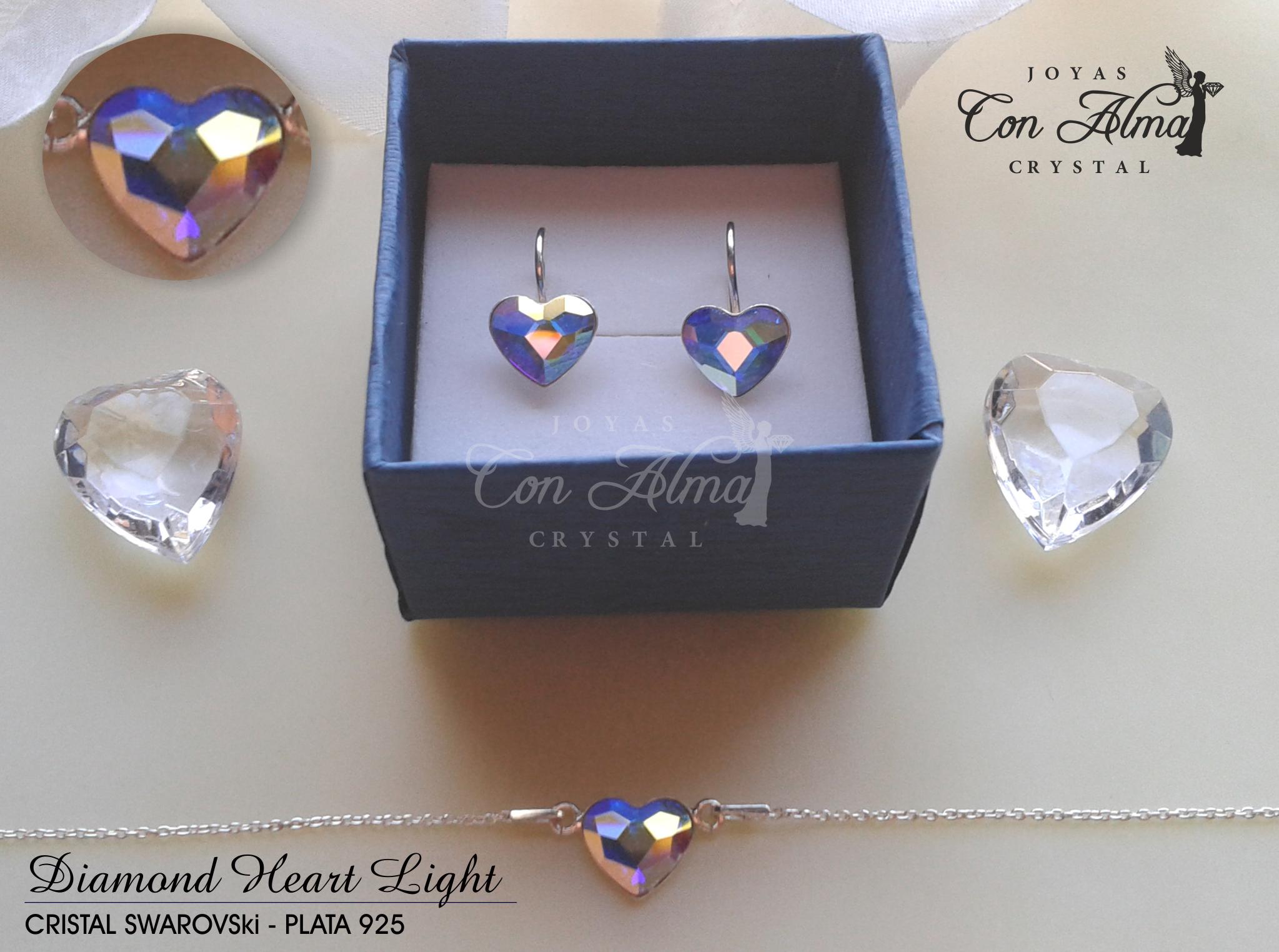 Conjunto Diamond Light Collar y Pendientes. 49,99 €