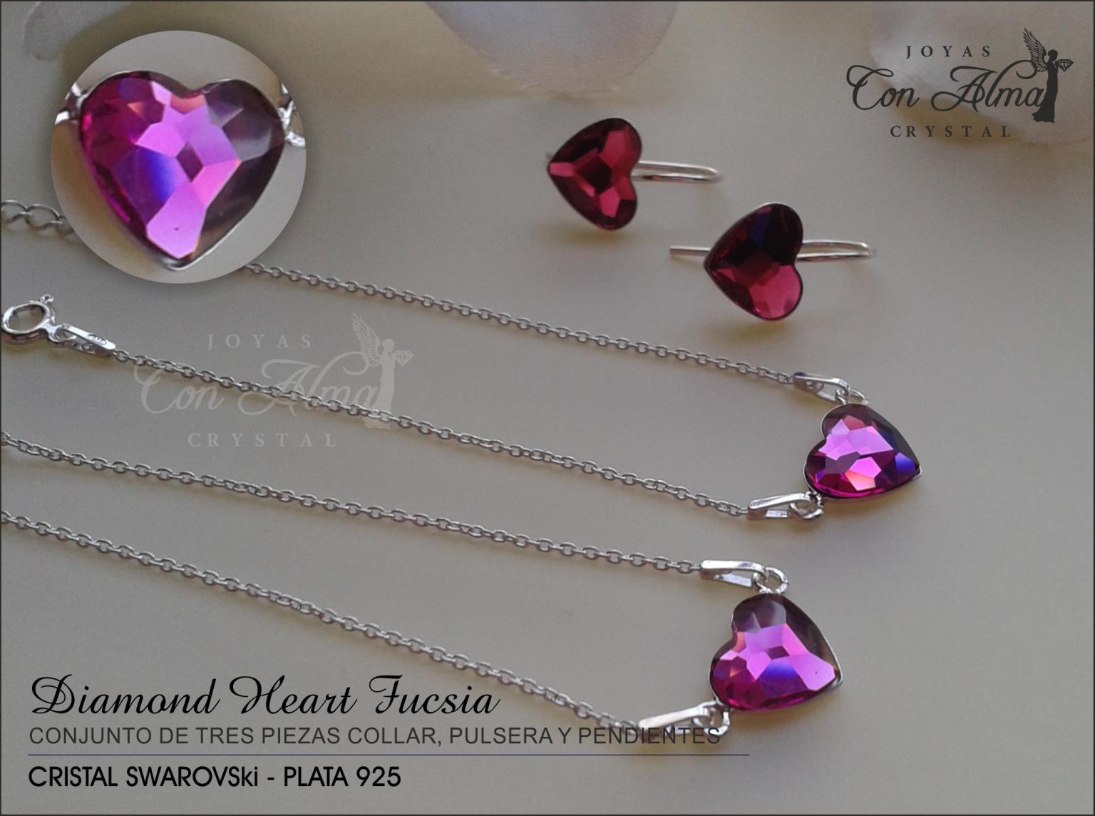 Conjunto Diamond Fucsia 64,99 €