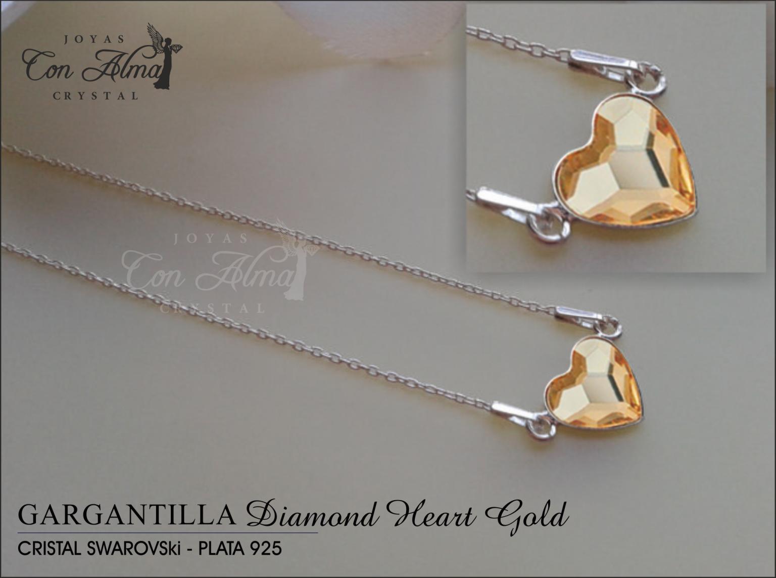 Gargantilla Diamond Gold   29,99 €
