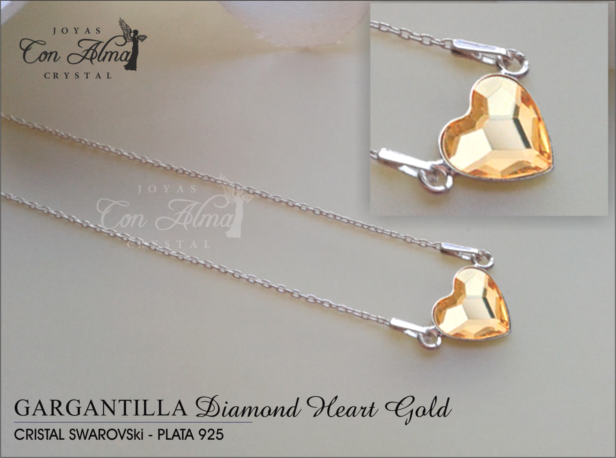 Gargantilla Diamond Gold  34,99 €