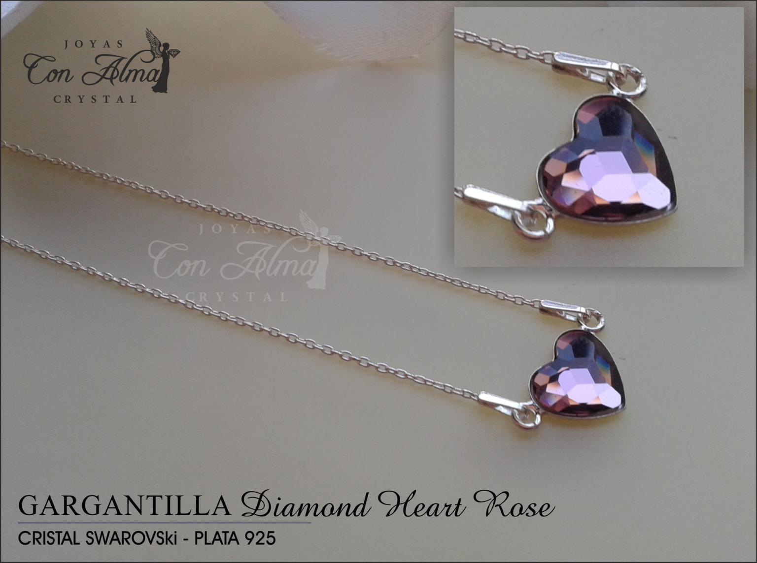 Gargantilla Diamond Rose 31,99 €