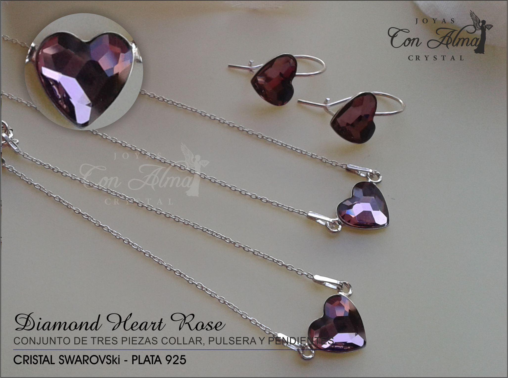 Conjunto Diamond Rose 54,99 €