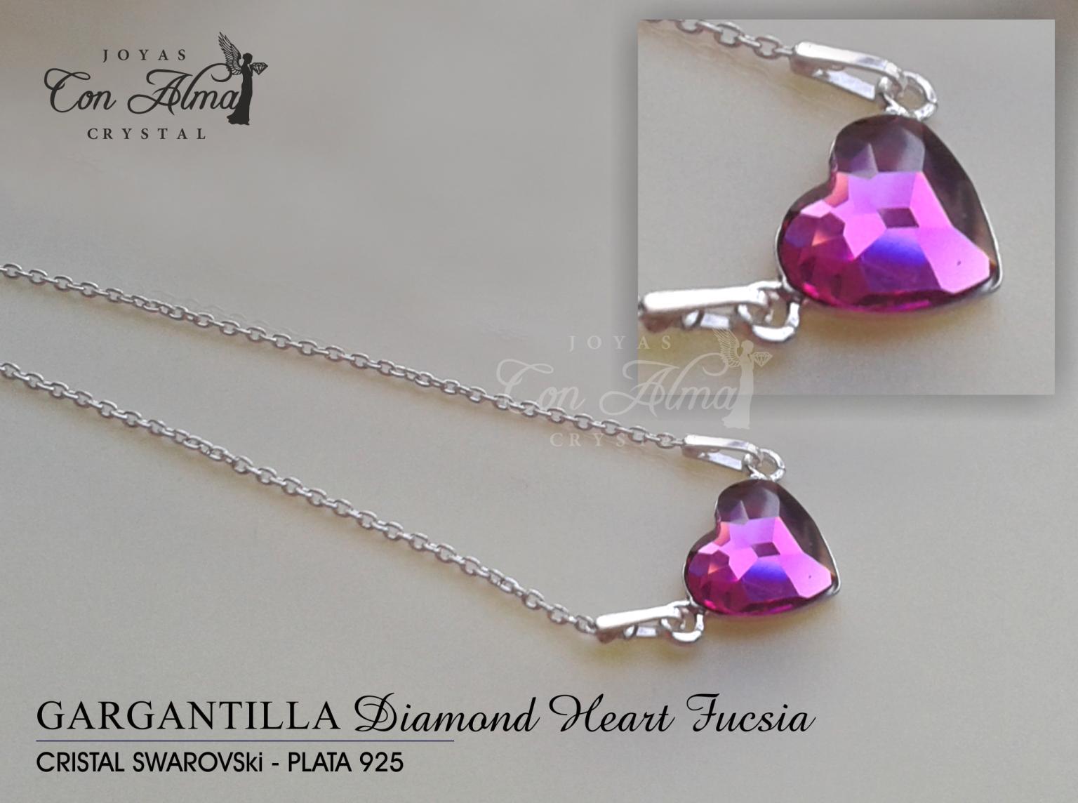 Gargantlla Diamond Fucsia 31,99 €