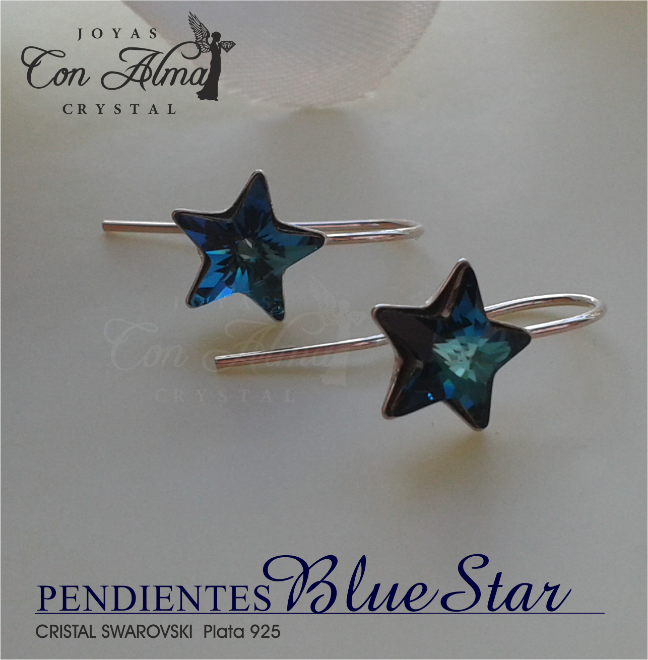 Pendientes Blue Star 19,99 €