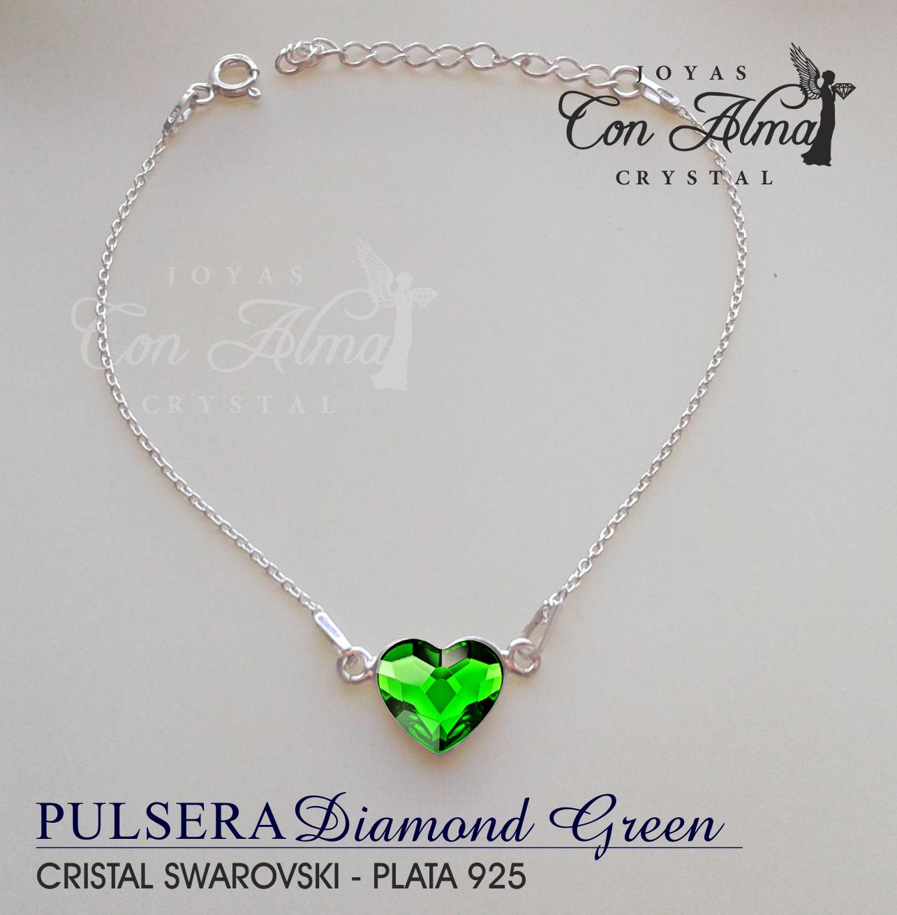 Pulsera Diamond Green 24,99 €