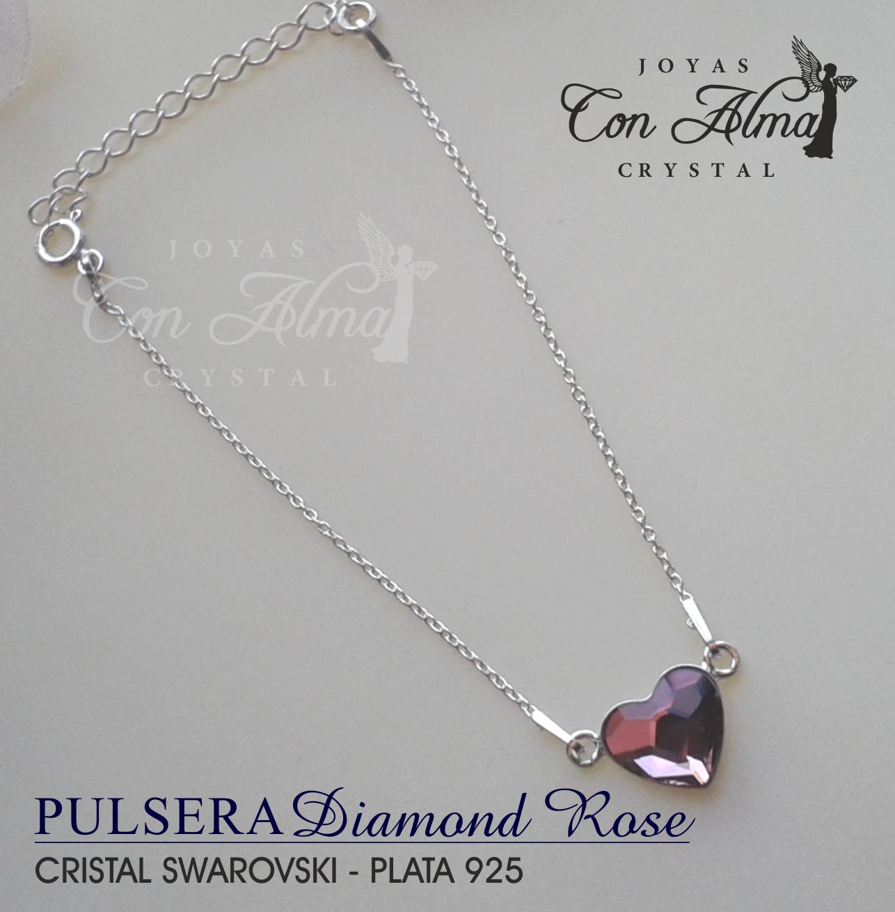 Pulsera Diamond Rose 25,99 €
