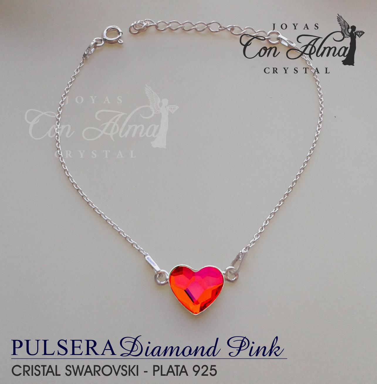 Pulsera Diamond Pink 26,99 €