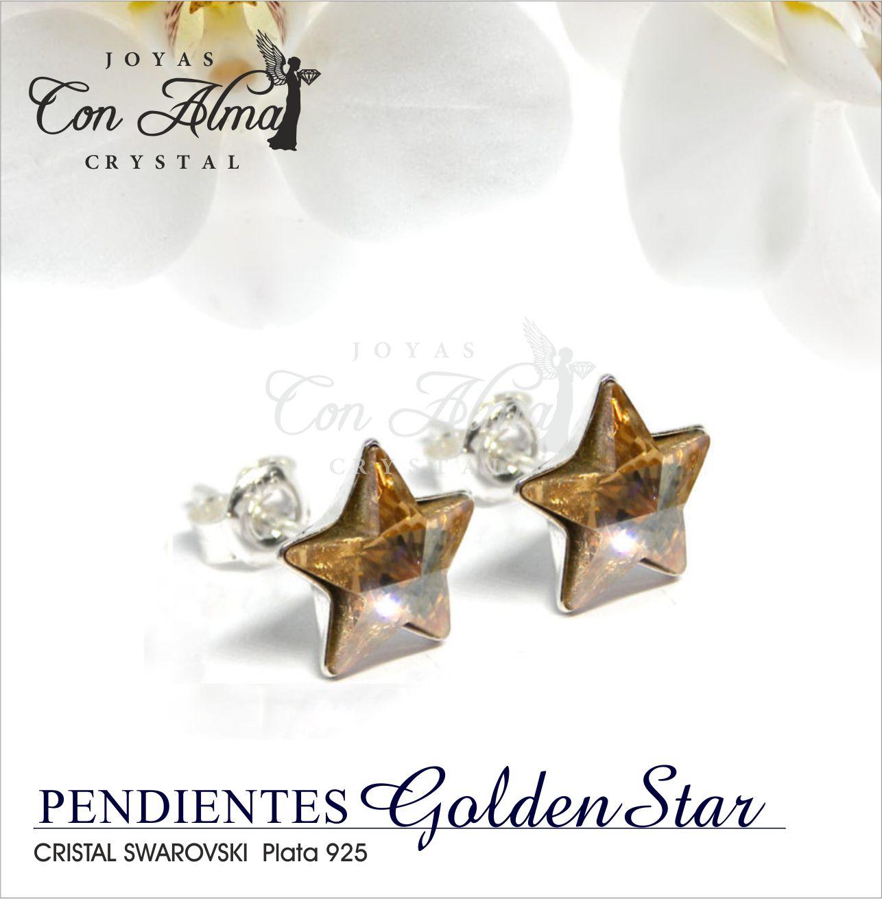 Pendientes  Golden Star 17,99 €
