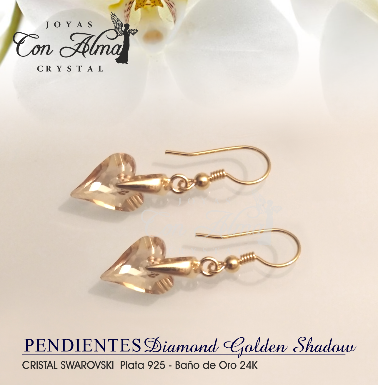 Pendientes Golden Shadow 25,99 €