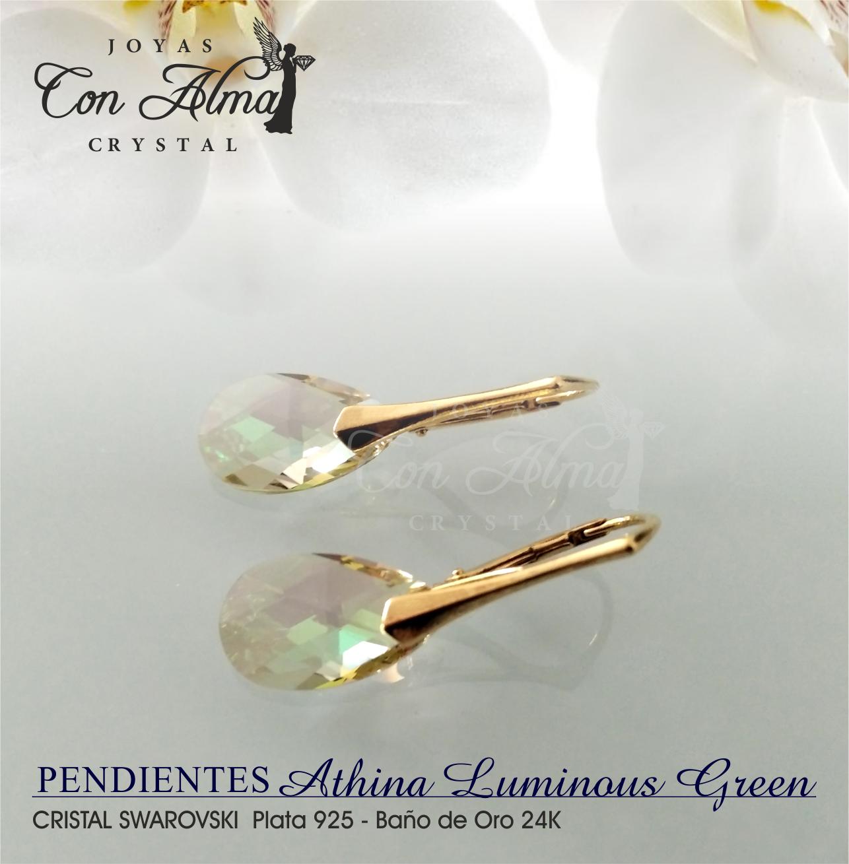 Pendientes Athina Luminous Green 34,99 €