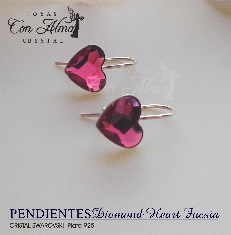 Diamond Heart Fucsia 21,99.€