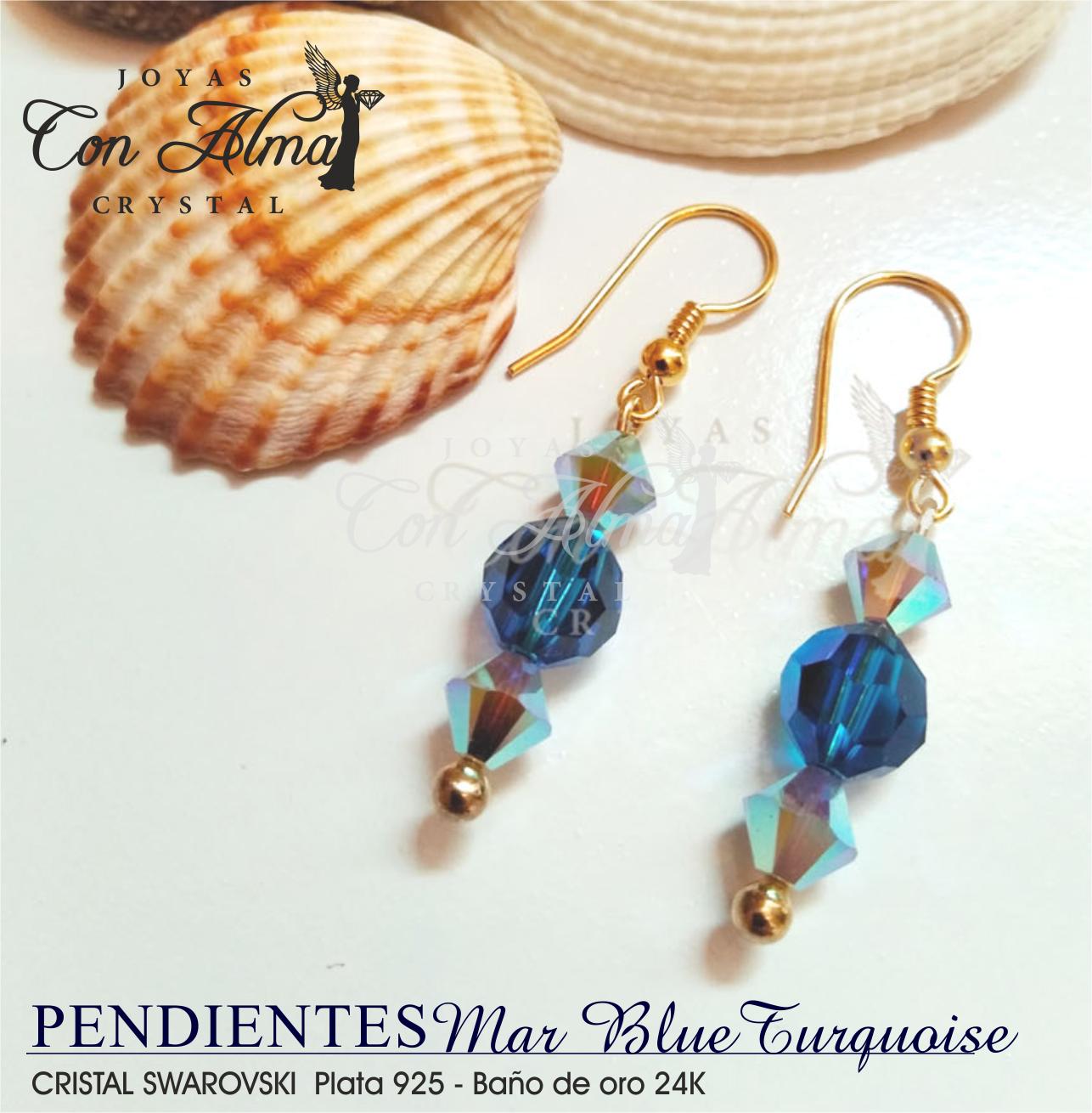 Pendientes Blue Turquoise 26,90 €