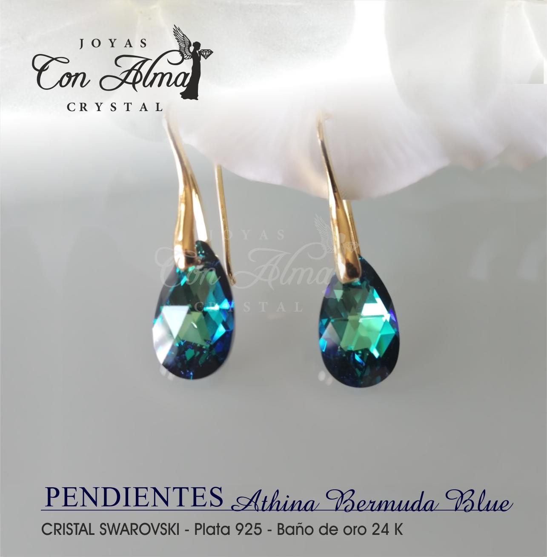 Pendientes Athina Bermuda Blue 30,€