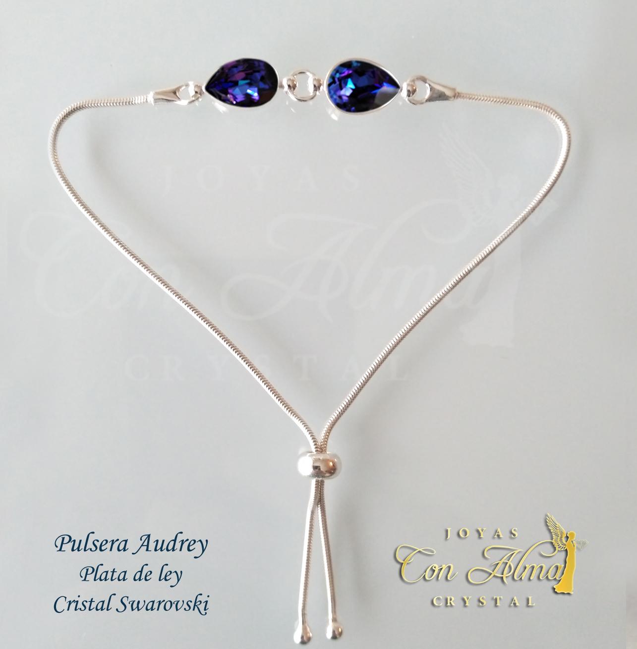 Pulsera Audrey  Alma Crystal