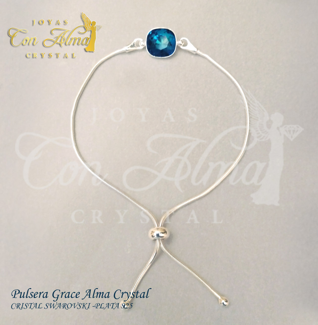 Pulsera Grace Alma Crystal  27 €